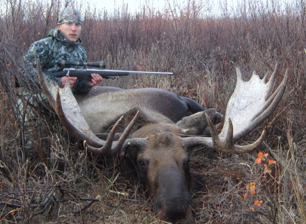 """Me (Louie) with my 57"""" bull!"""